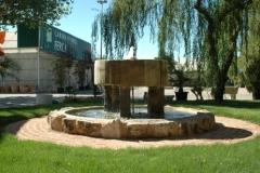 Fuente-decoración-jardines-Viveros-Ferca